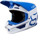 2019 Fox V1 MATA Motocross Helmet BLUE WHITE